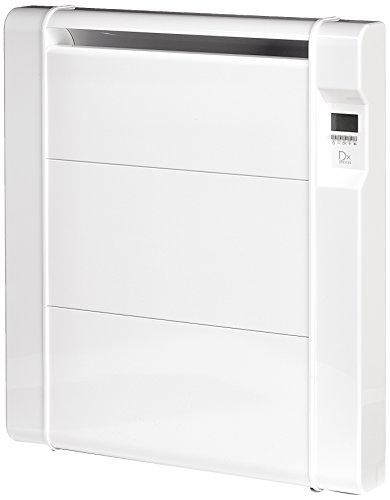 DREXON 744150 - Radiateur à inertie Céramique - 1500 W - Écran LCD rétroéclairé Bleu - Blanc