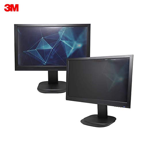 3M Privacy Filter for 27 Inch Widescreen Monitor, Reversable Gloss/Matte, Reduces Blue Light, Screen Protection, 16:9 Aspect Ratio (PF270W9B)