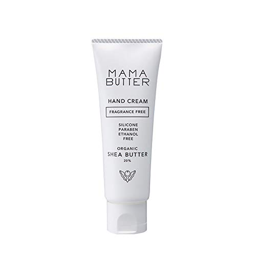 Baby Japan Mama Butter Hand Cream 40g (Ntural Shea Butter 20%) - No Fragrance (Green Tea Set)