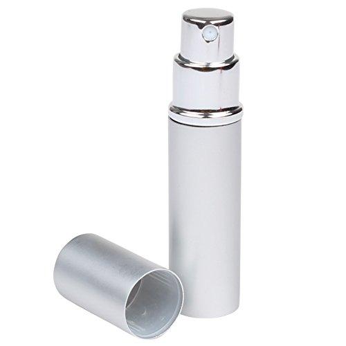Flacon vaporisateur rechargeable pour sac à main Argenté