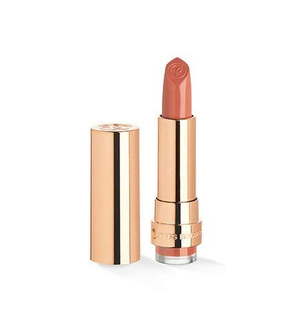 Yves Rocher COULEURS NATURE GRAND ROUGE Lippenstift Satin 101 Nude Pêche, langanhaltend & pflegend in Nude, 1 x Stift 3,7 g