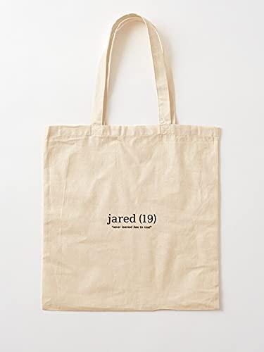 Générique Teen Vine   Einkaufstaschen aus Segeltuch mit Griffen, Einkaufstaschen aus nachhaltiger Baumwolle