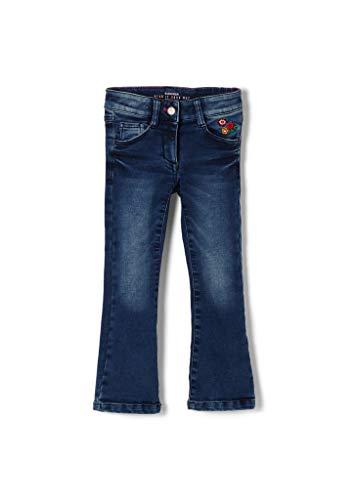s.Oliver Junior Mädchen 403.10.009.26.180.2051426 Jeans, Dark Blue sretched, 122/REG