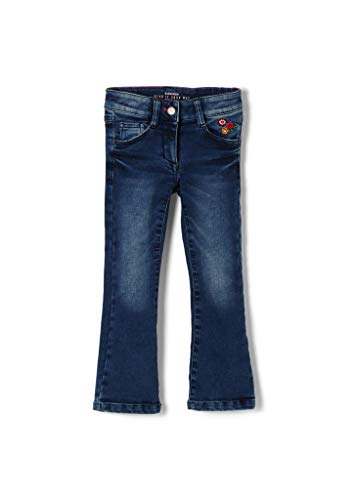 s.Oliver Mädchen Regular Fit: Bootcut Leg-Jeans Dark Blue 128.Slim