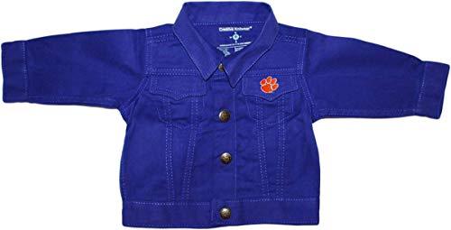 Creative Knitwear Clemson University Denim Jacket