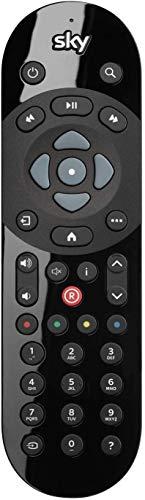 VSnetwork Telecomando di ricambio Sky Q Box, Sky Q Silver, Sky Q Mini, funziona con tutti i ricevitori Sky Q, Plug&Play, nessuna programmazione