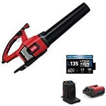 Toro 115 MPH 605 CFM 60-Volt Max Lithium-Ion Brushless Cordless Leaf Blower - 2.5 Ah Battery, Charger and Utility Bin Included