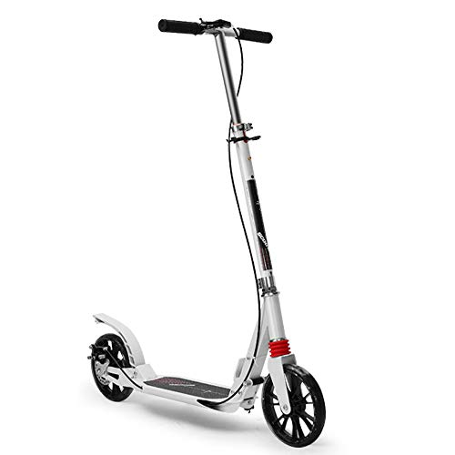 90GJ Adulto Scooter de Dos Ruedas-Scooter de Acrobacias para niños Two Wheel Kick/Push 360 Spin Trick Street para niños Niñas Mayores de 7 años