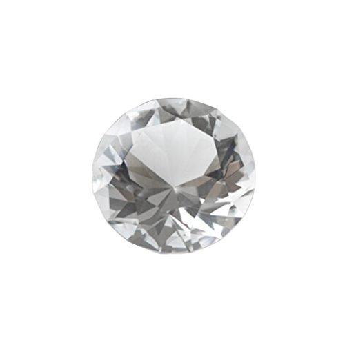 Tinksky 6cm Acryl Diamanten Dekor große Kristall Diamant für Party Hochzeit Fotografie Tischdeko DIY Handwerk