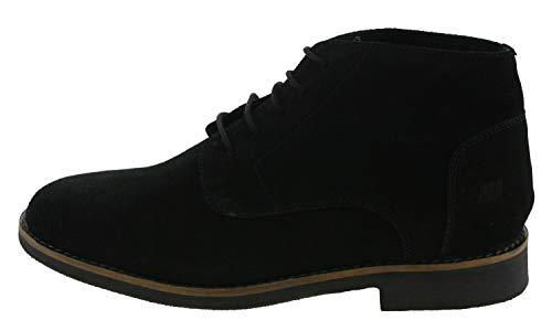 Boras 3075 GIULIO, Herren Festliche Halbschuhe, Schwarz (black 0001), EU 45
