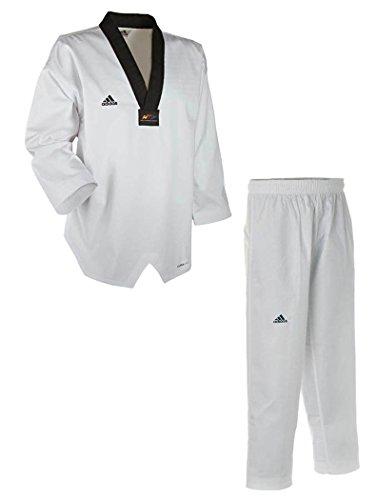 Adidas Taekwondo Adi Champ III con Solapa Negra 170