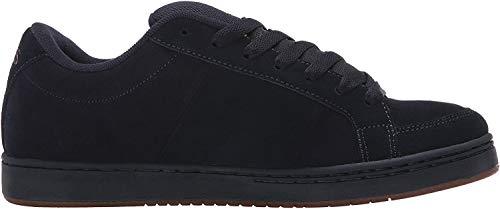 Etnies KINGPIN - zapatilla deportiva de cuero hombre, color negro, talla 45