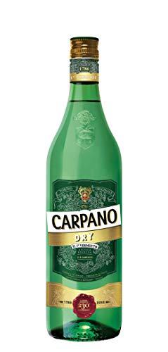 Carpano Vermouth Dry - 3 botellas x 1000 ml - Total: 3000 ml