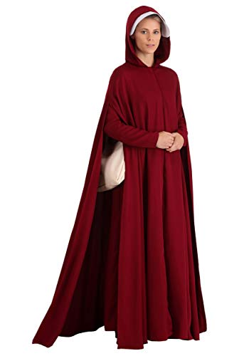 Handmaid's Tale Deluxe Womens Fancy Dress Costume Large/X-Large