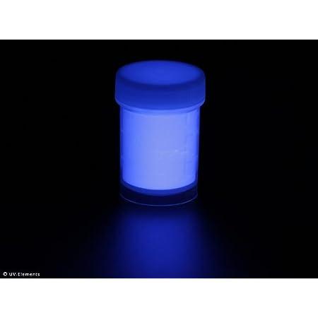n/éon Lumi/ère noire Poudre de marquage invisible 50 g Bleu poudre de couleur UV