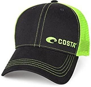 Costa Neon Trucker Offset Logo Graphite Hat