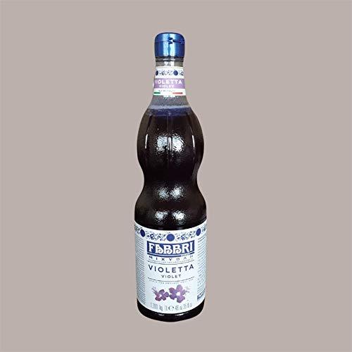 Lucgel Srl 1,3 Kg Sciroppo alla VIOLETTA per Gelato Granita Cocktail Mixybar Fabbri Pasticceria e Dolci