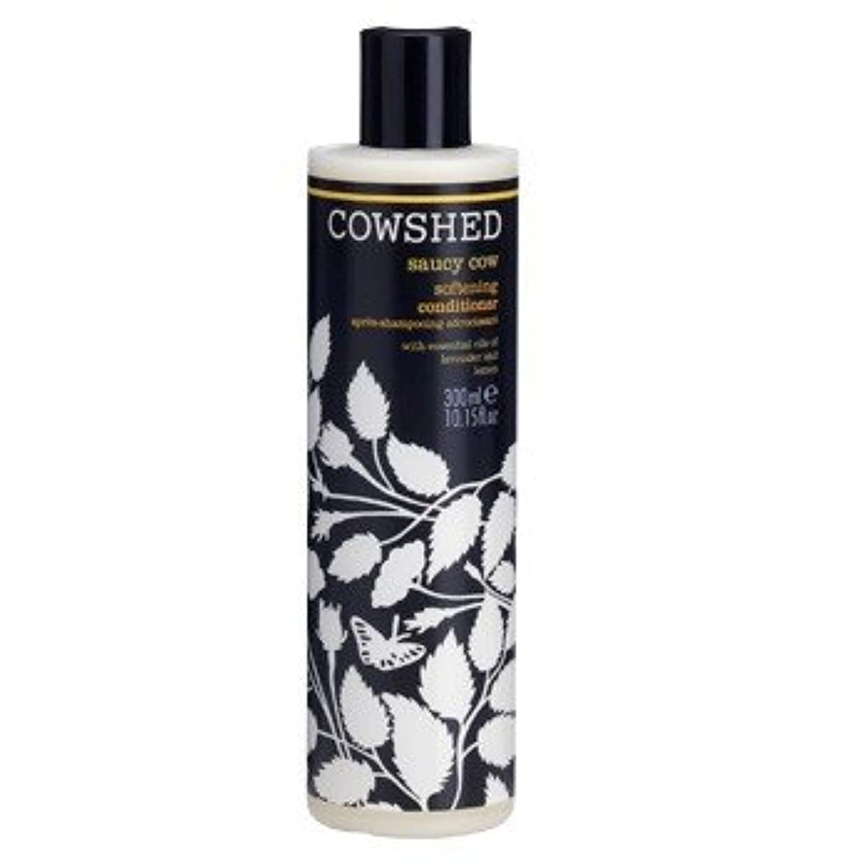 小包フィットネス称賛牛舎生意気な牛軟化コンディショナー300ミリリットル (Cowshed) (x6) - Cowshed Saucy Cow Softening Conditioner 300ml (Pack of 6) [並行輸入品]
