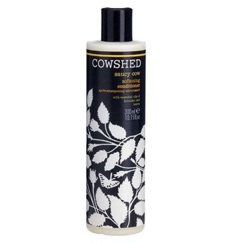 傾斜に対処する時制牛舎生意気な牛軟化コンディショナー300ミリリットル (Cowshed) - Cowshed Saucy Cow Softening Conditioner 300ml [並行輸入品]