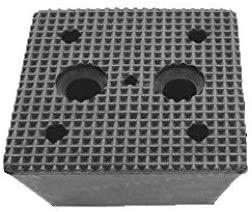 150x150x70mm Gummiauflage (Pyramide) Gummi-Unterlage Auflage Wagen-Heber Hebebühne eckig Auto Klotz Rangier-Wagenheber Puffer Reifen Reifenwechsel LKW Räder KFZ Tuning Zubehör