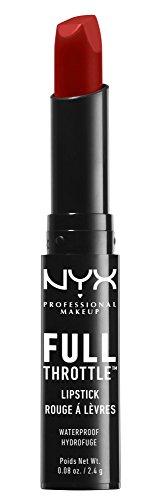 NYX Full Throttle Lipstick 08 up the bass