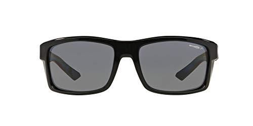 Arnette 4216 - Gafas de sol, Hombre, Negro (Gloss Black)