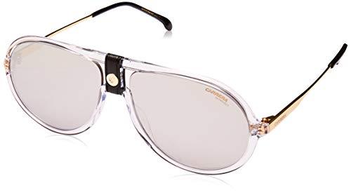 Carrera 1020/S Crystal/Silver Lens Mirror Sunglasses 60-15-145