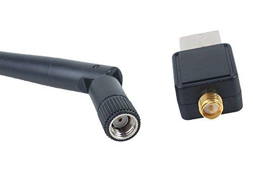 KKMOON Mini 150M USB Wifi Wireless Lan 802.11 n / g / b-Adapter mit Antenne