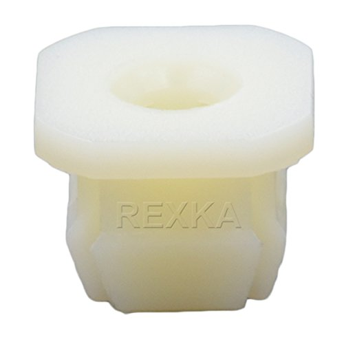 Rexka 50pcs Park/Turn Front Light Lamp Radiator Grille Retainer Nut Compatible with GM 347347 Buick Cadillac Chevrolet GMC Oldsmobile Pontiac