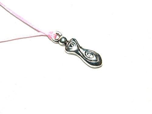 Jeannieparnell W056 - Wish String Bracelet or Anklet - Fertility - Fertility Goddess Charm Handmade Design