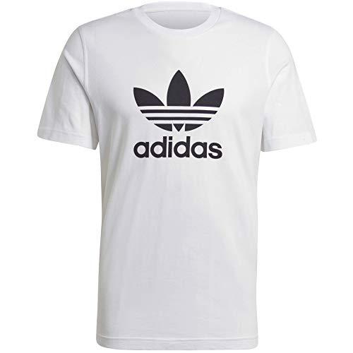 adidas Originals,mens,Trefoil T-Shirt,White/Black,Large