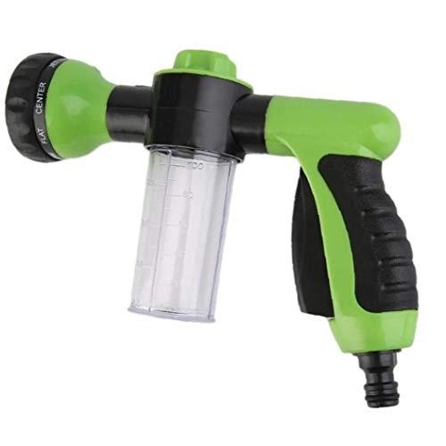 Lankater Spray Nozzle Hose Attachment for Garden Fertiliser Green