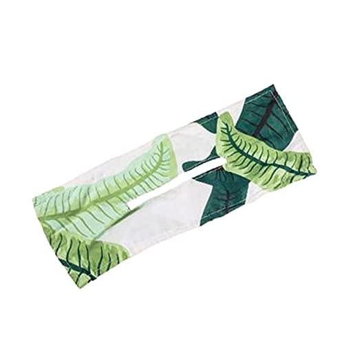 Deft Bun 1/2 unids moda bandas de pelo mujeres verano anudado alambre diadema impresión accesorios para el cabello