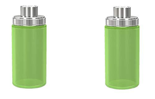 Wismec Luxotic Silikonflasche Sqounker Flasche 2 x (Grün)