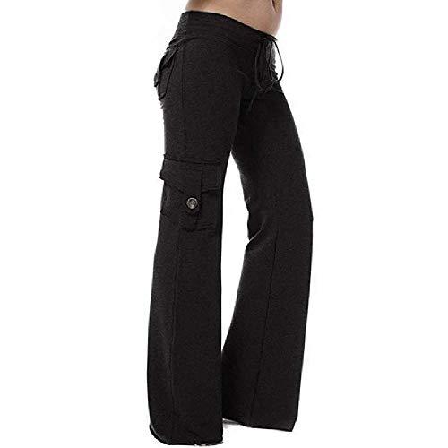 N\P Pantalones de yoga al aire libre altamente elásticos pantalones para mujer elásticos de bolsillo suave para correr pantalones de yoga casuales ropa deportiva