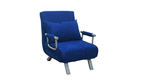 divano letto 1 piazza ITALFROM Divano Letto Sofa Bed Blu 65x69x82h DIVANETTI Divano Letto 1 Piazza