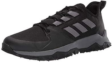 adidas Men's Kanadia Trail, Black/Grey/Grey, 10.5 M US