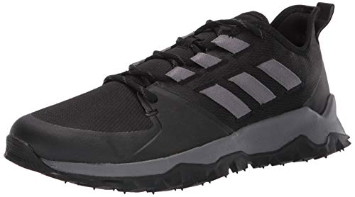 adidas Men's Kanadia Trail, Black/Grey/Grey, 12 M US