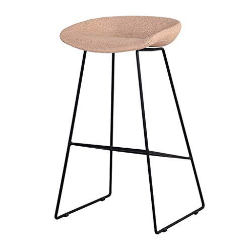 Preisvergleich Produktbild AINIYF Nordischer schmiedeeiserner Barstuhl Moderner minimalistischer Heimhochstuhl (8300 X 470 X 480 X 7300mm) (Color : B1)