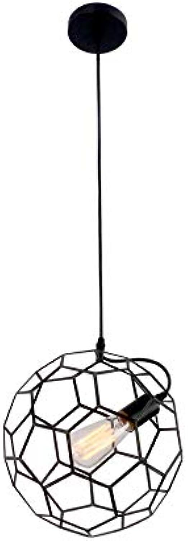 Magosca Kreative Kronleuchter Einzigartige Schmiedeeisen Fuball Hngelampen Indoor American Modern Restaurant Schlafzimmer Beleuchtung Pendelleuchten Cafe Bar Dekorative Deckenleuchte E27