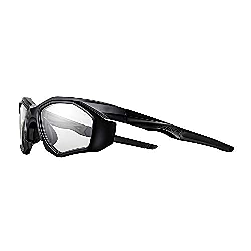 オージーケーカブト(OGK KABUTO) 自転車 スポーツサングラス/アイウエア 301DPH (ドック付き・調光レンズモデル) マットブラック