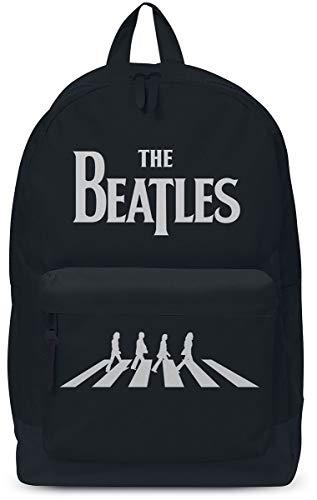 The Beatles Abbey Road Unisex Mochila Negro, 100% poliéster,