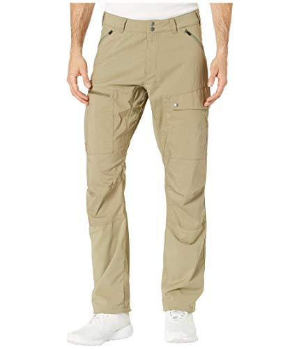 Fjällräven M Abisko Midsummer Trousers Regular Colorblock-Grün, Herren G-1000 Hose, Größe 52 - Farbe Savanna - Light Ol