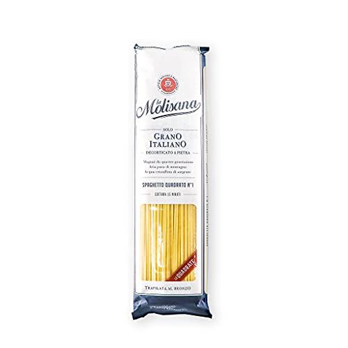 La Molisana, Spaghettino Quadrato n.11 Pasta Lunga, SOLO Grano Italiano - 500g