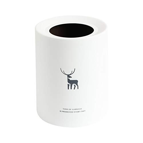 ZXC Home Afvalemmer voor thuis, woonkamer, keuken, badkamer, yard, vuilnisbak, kunststof, duurzaam Rubbish