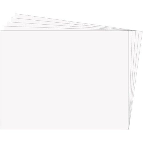 Fixo Paper 11100270 – Paquete de 25 cartulinas 50x65 – Cartulina blanca grande – 180g