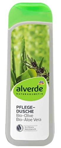 Duschgel Pflegedusche - Naturkosmetik - Mit Bio-Olive und Bio Aloe Vera - Reinigt Ihre Haut sanft und gründlich ohne sie auszutrocknen - 250 ml