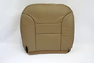 us auto upholstery 1997 Chevy Suburban LT LS -Driver Side Bottom Replacement Leather Seat Cover Tan