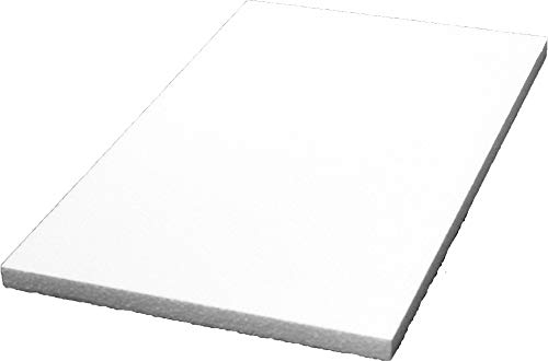 Styropor A5058493 plaat 500x300x20 mm 5 stuks, EPS, wit, 50x30x2 cm