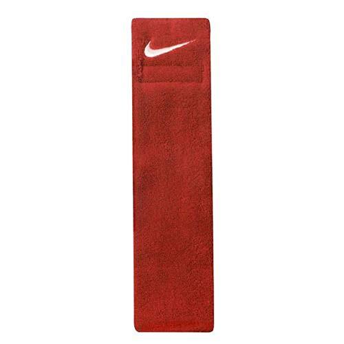 Nike Toalla de fútbol americano, color rojo
